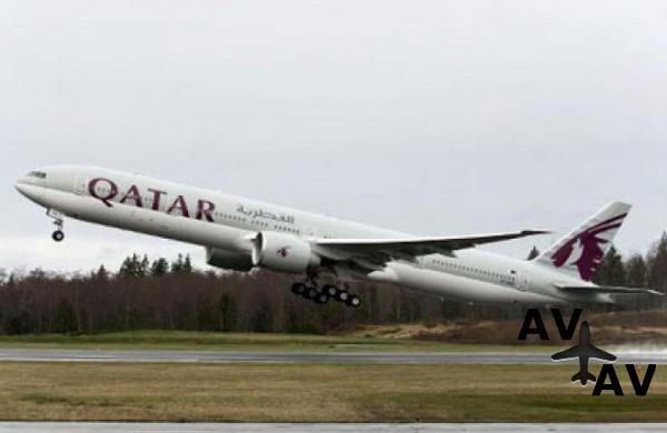 Авиакомпания Qatar Airways заказала девять самолетов Boeing 777-300ER