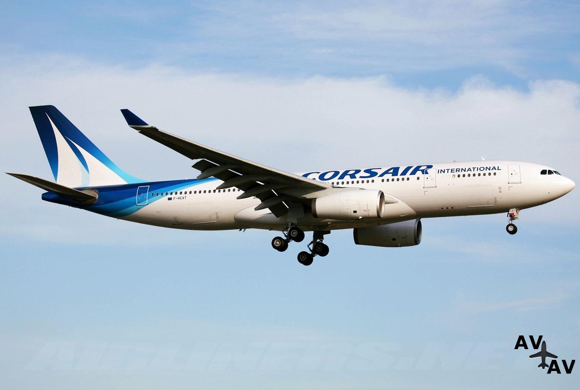 Corsair: скидки на авиабилеты из Парижа