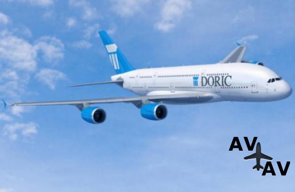 Лизинговая компания Doric заказала 20 самолетов Airbus A380