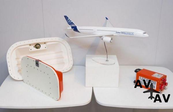 Самолеты Airbus получат бортовые самописцы нового поколения